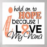 Esperanza de mi cáncer uterino de Nana Impresiones