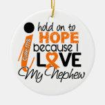 Esperanza de mi esclerosis múltiple del ms del sob adorno de navidad