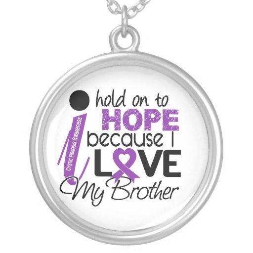 Esperanza de mi fibrosis quística de Brother Pendiente Personalizado