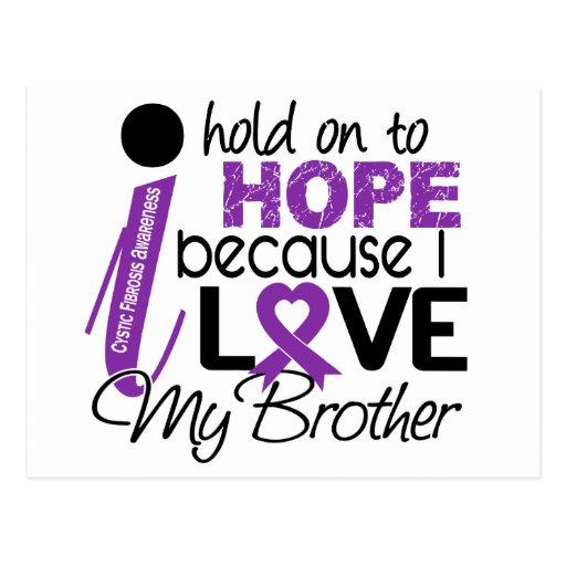 Esperanza de mi fibrosis quística de Brother Postales