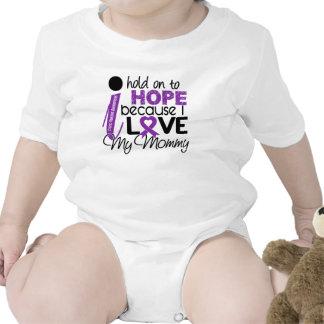 Esperanza de mi fibrosis quística de la mamá camisetas