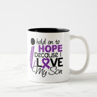 Esperanza de mi fibrosis quística del hijo taza de café