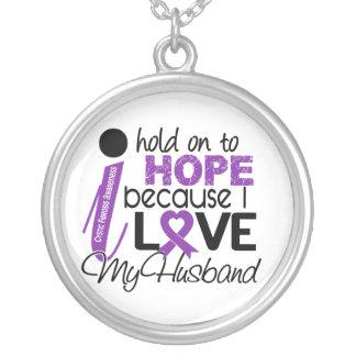 Esperanza de mi fibrosis quística del marido collar personalizado