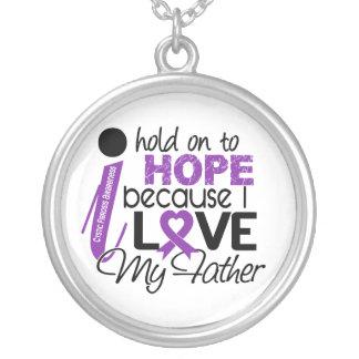 Esperanza de mi fibrosis quística del padre collar personalizado