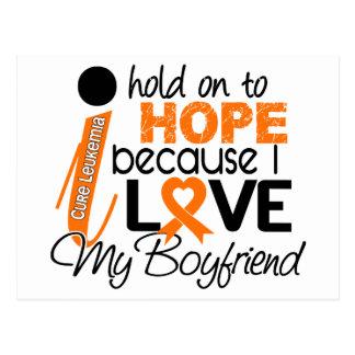Esperanza de mi leucemia del novio postales