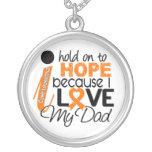 Esperanza de mi leucemia del papá pendientes