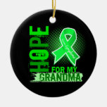 Esperanza de mi linfoma de la abuela ornamente de reyes
