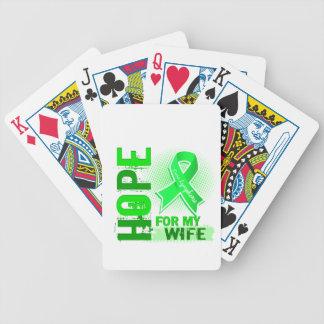 Esperanza de mi linfoma de la esposa baraja de cartas