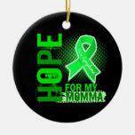 Esperanza de mi linfoma de Momma Ornamento De Reyes Magos
