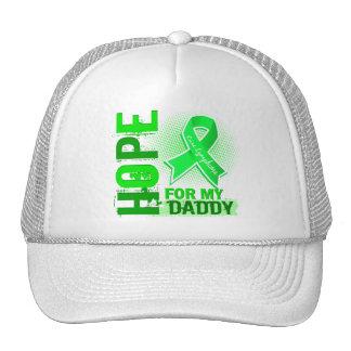 Esperanza de mi linfoma del papá gorras