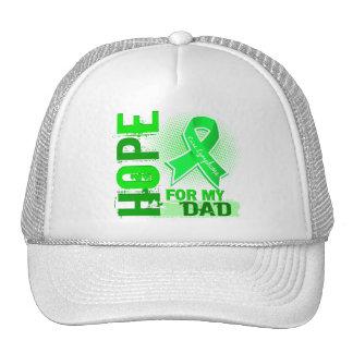 Esperanza de mi linfoma del papá gorras de camionero