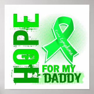 Esperanza de mi linfoma del papá póster