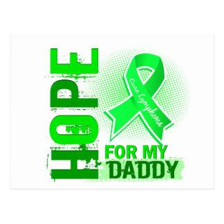 Esperanza de mi linfoma del papá postal