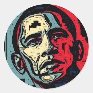 Esperanza de Obama Pegatina Redonda