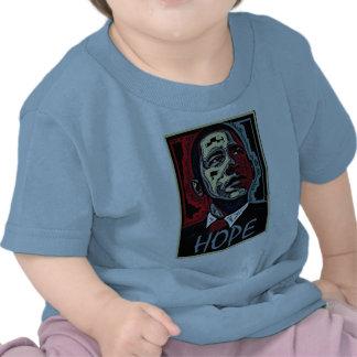 Esperanza de Obama Camisetas