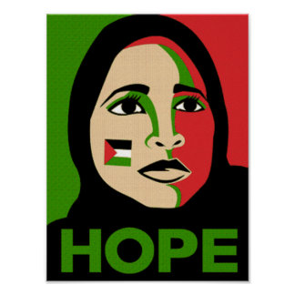 Esperanza de Palestina Póster
