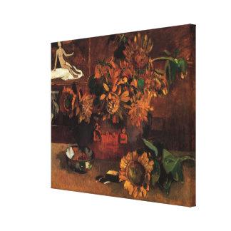 Esperanza de Paul Gauguin, arte del impresionismo Lona Envuelta Para Galerias