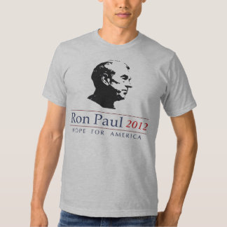 Esperanza de Ron Paul de América Playera