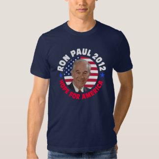 Esperanza de Ron Paul de América Playeras