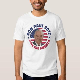 Esperanza de Ron Paul de América Poleras