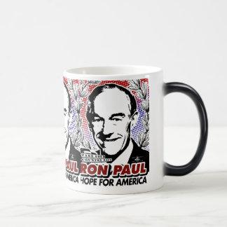Esperanza de RON PAUL del café de América/de la Taza Mágica