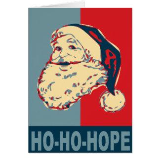 esperanza de santa - de obama tarjeta