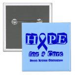 Esperanza de una curación - Blue Ribbon Pins