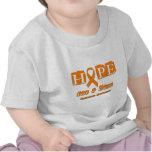 Esperanza de una curación - leucemia camiseta