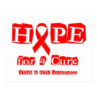 Esperanza de una curación - SIDA de la cinta y VIH Postal