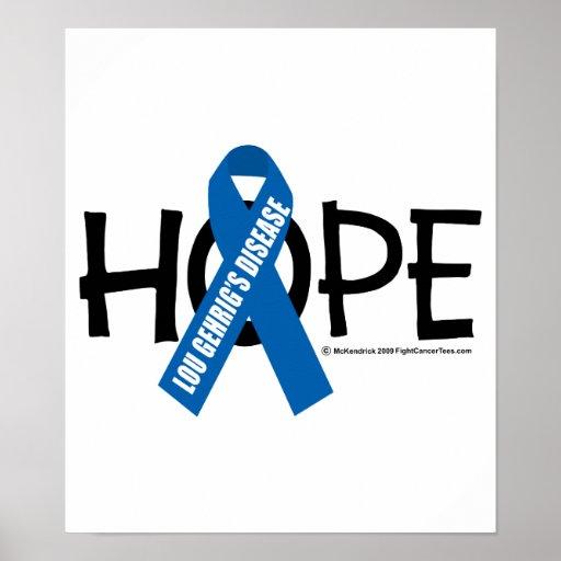 Esperanza del ALS Poster