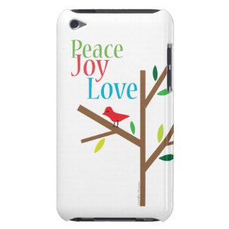 Esperanza del amor de la alegría de la paz funda Case-Mate para iPod