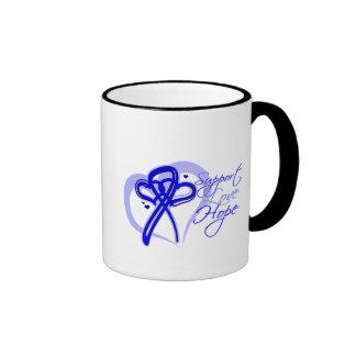 Esperanza del amor de la ayuda - cáncer anal taza de café