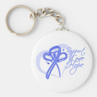 Esperanza del amor de la ayuda - cáncer de estómag llaveros personalizados