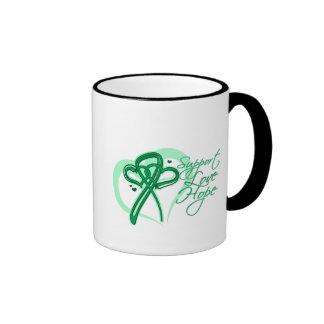 Esperanza del amor de la ayuda - cáncer de hígado tazas de café