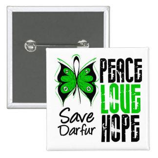 Esperanza del amor de la paz de Darfur Pin
