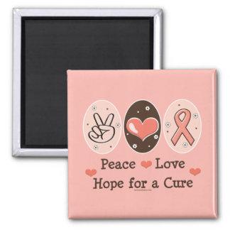 Esperanza del amor de la paz de un imán de la cura