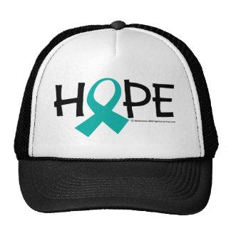 Esperanza del cáncer de cuello del útero gorras