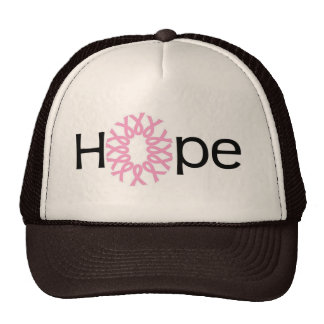 Esperanza del cáncer de pecho gorros
