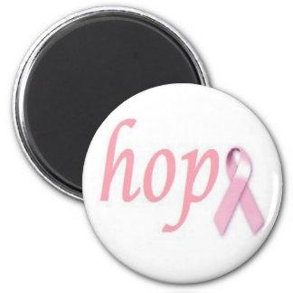 Esperanza del cáncer de pecho imán