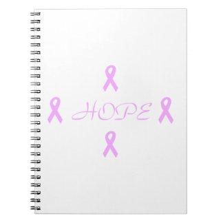 Esperanza del cáncer de pecho libros de apuntes