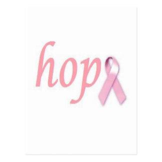 Esperanza del cáncer de pecho postales