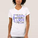Esperanza del cáncer de próstata de mi papá camisetas