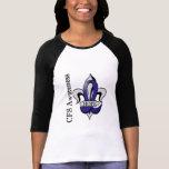 Esperanza del CFS de la flor de lis Camisetas