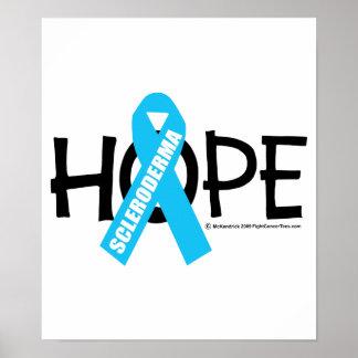 Esperanza del escleroderma posters