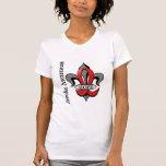 Esperanza del movimiento de la flor de lis camisetas