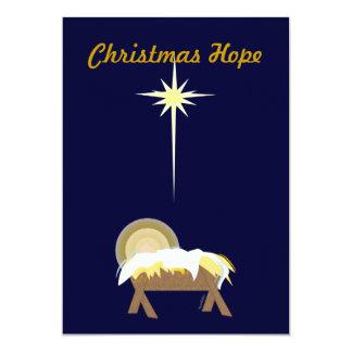 Esperanza del navidad más allá del comunicado personalizado