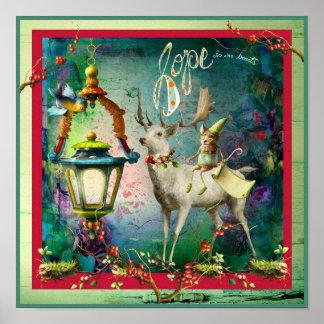 Esperanza del navidad póster