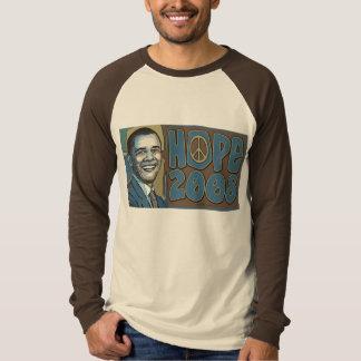 Esperanza del retrato 2008 de Obama Camisas