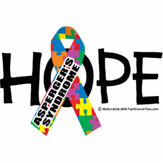 Esperanza del síndrome de Asperger Fotoescultura Vertical