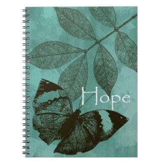Esperanza del trío de la naturaleza notebook